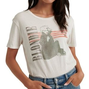 Blondie Tee Shirt Junk Food for Lucky Brand